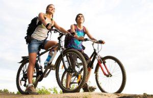 Radfahren als Freizeitvergnügen